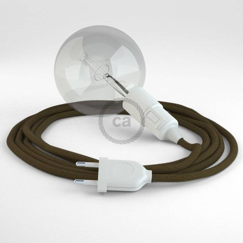 Créez votre Snake Coton Marron RC13 et apportez la lumière là où vous souhaitez.