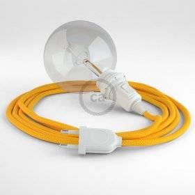 Créez votre Snake pour Abat-jour Effet Soie Jaune RM10 et apportez la lumière là où vous souhaitez.