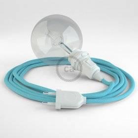 Créez votre Snake pour Abat-jour Effet Soie Bleu Azur Baby RM17 et apportez la lumière là où vous souhaitez.