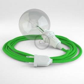 Créez votre Snake pour Abat-jour Effet Soie Vert Lime RM18 et apportez la lumière là où vous souhaitez.