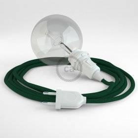 Créez votre Snake pour Abat-jour Effet Soie Vert Foncé RM21 et apportez la lumière là où vous souhaitez.