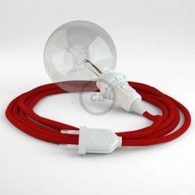 Créez votre Snake pour Abat-jour Coton Rouge Feu RC35 et apportez la lumière là où vous souhaitez.