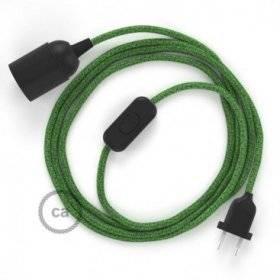 SnakeBis cordon avec douille et câble textile Coton Bronte RX08