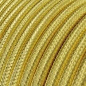 Fil Électrique Rond Gaine De Cuivre 100% couleur Doré