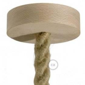 Kit rosace en bois pour corde 2XL