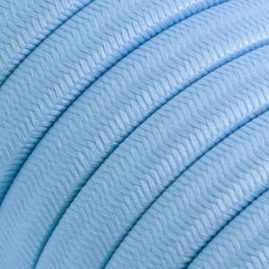 Câble électrique pour Guirlande recouvert en tissu Effet soie Azur Baby CM17