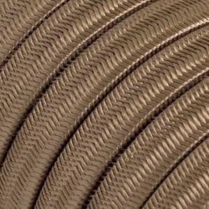 Câble électrique pour Guirlande recouvert en tissu Effet soie Poudre CM27