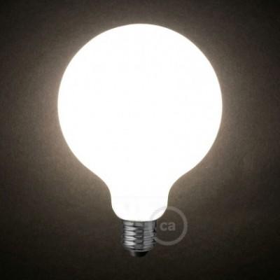 Ampoule LED blanc lait - Globe G125 – 7.5W E27 Dimmable 2700K