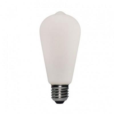 Ampoule LED effet Porcelaine ST64 6W E27 Dimmable 2700K