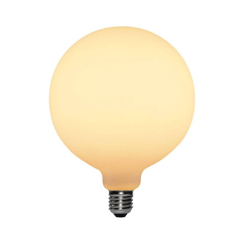 Ampoule LED effet Porcelaine G155 6W E27 Dimmable 2700K