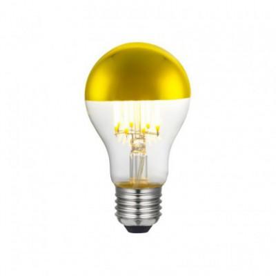 Ampoule LED Goutte A60 Demi Sphère Doré 7W E27 Dimmable 2700K