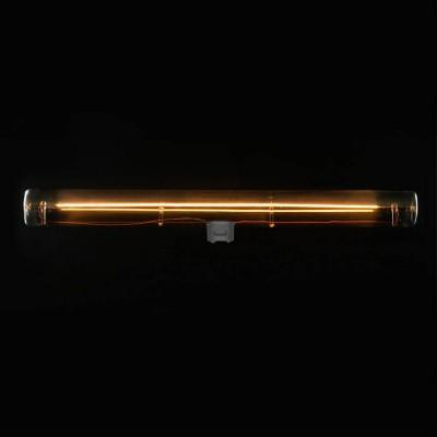 Ampoule tube LED gris fumé S14d - 300 mm de longueur 8W 2200K dimmable - pour S14 System