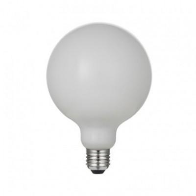 Ampoule LED en Porcelaine G125 6W E27 Dimmable 2700K