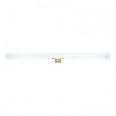 Ampoule LED linéaire S14d transparente - longueur 500 mm 12W Dimmable 2200K - pour S14 System
